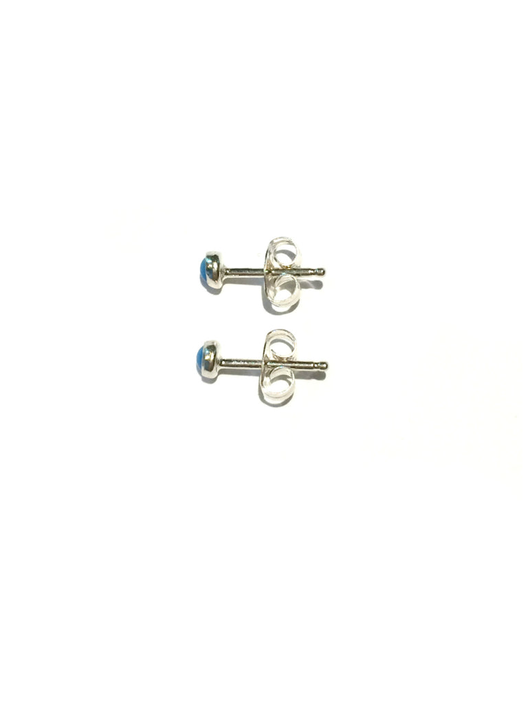 3mm Stone Studs | Sterling Silver Posts Earrings | Light Years Jewelry