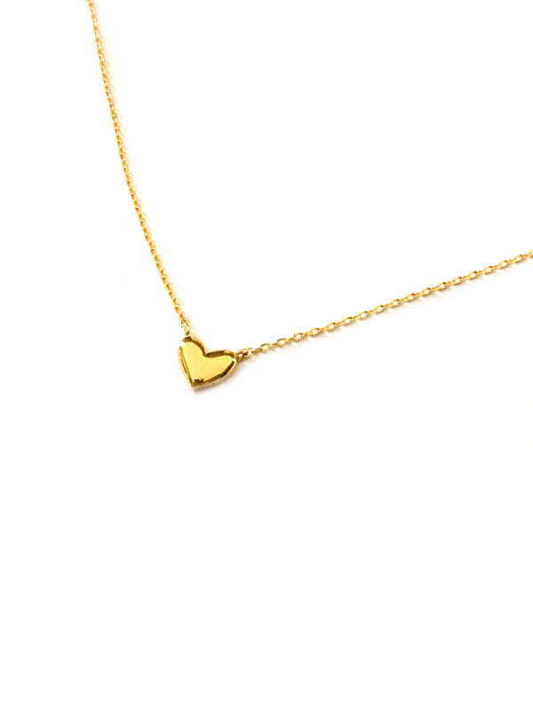 Sweet Heart Choker Necklace | Gold Silver Plated Chain | Light Years