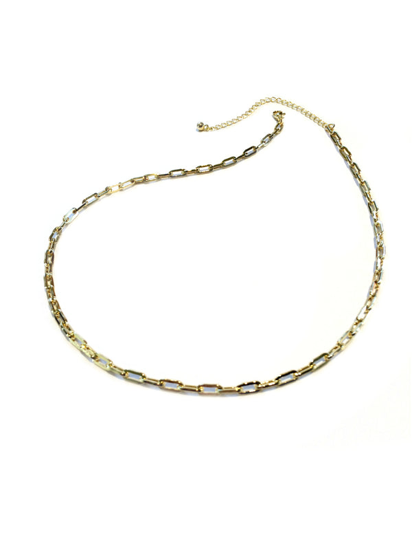 Linked Chain Chokers | Gold Plated Necklaces | Light Years Jewelry