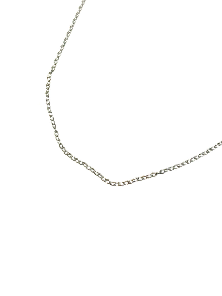 "Adjustable Cable Chain | Sterling Silver Necklace 16"" 18"" 