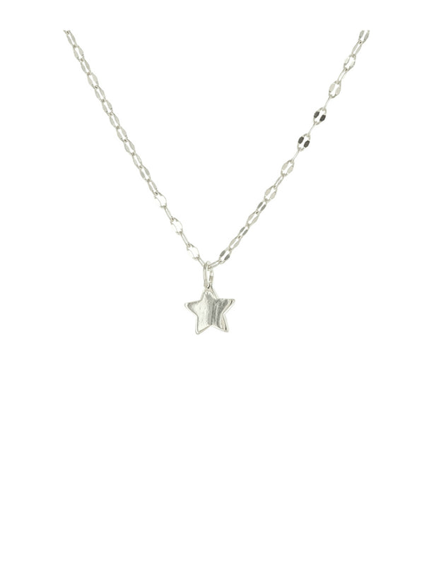 Star Charm Necklace | Gold Silver Plated Chain Pendant | Light Years