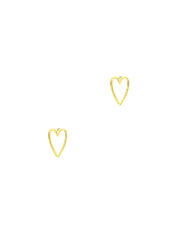 Gold Heart Posts