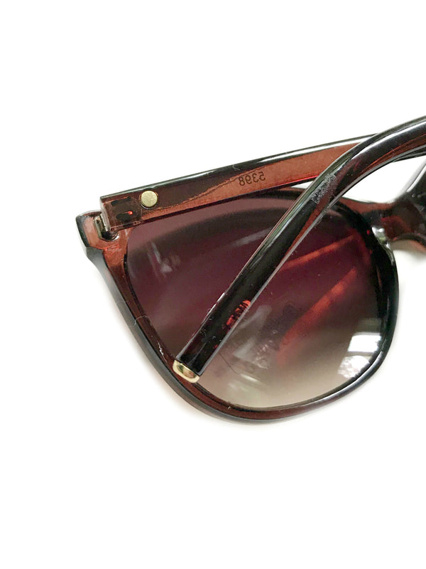 Gold Tipped Sunglasses | Black Brown Tortoiseshell | Light Years Jewelry