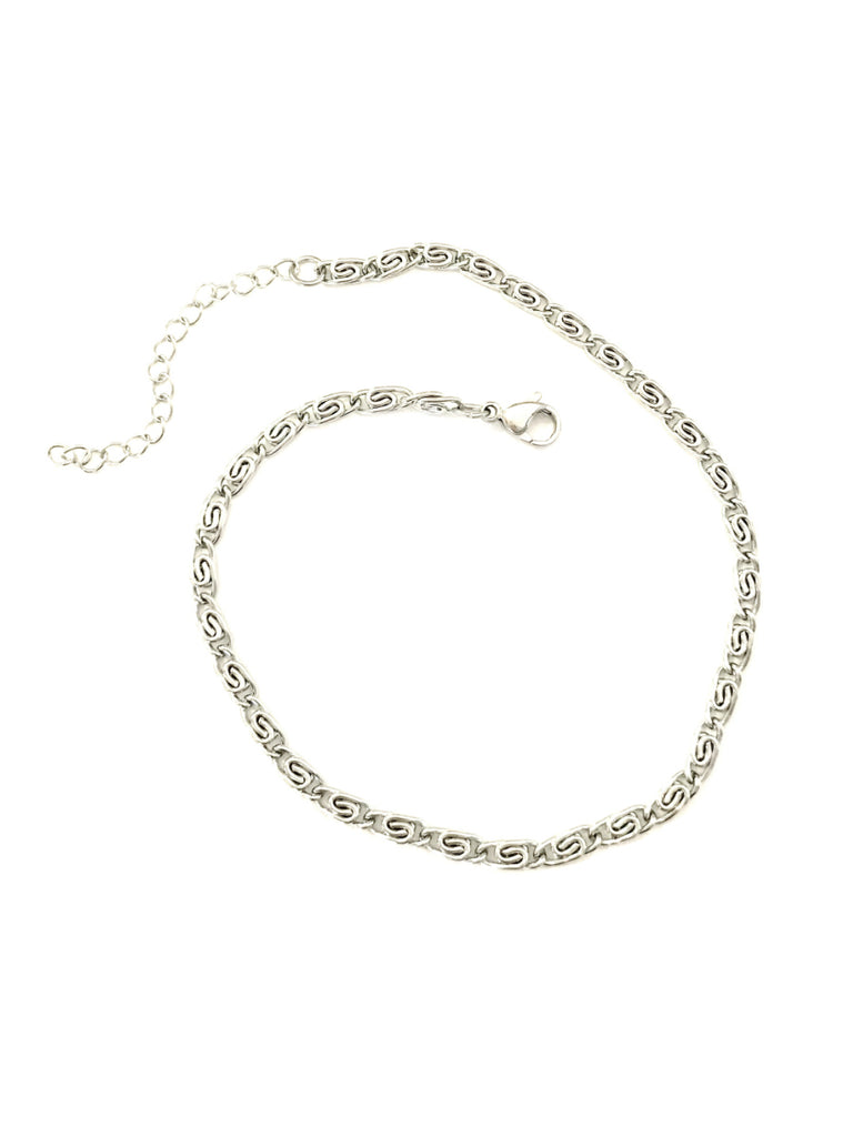 Stainless Steel Scroll Anklet | Summer Accessories | Light Years Jewelry