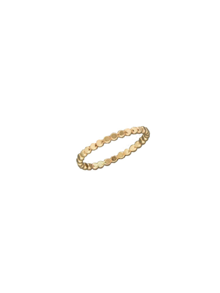 14k Gold Filled Dot Band | Rings Size 5 6 7 8 9 10 | Light Years Jewelry