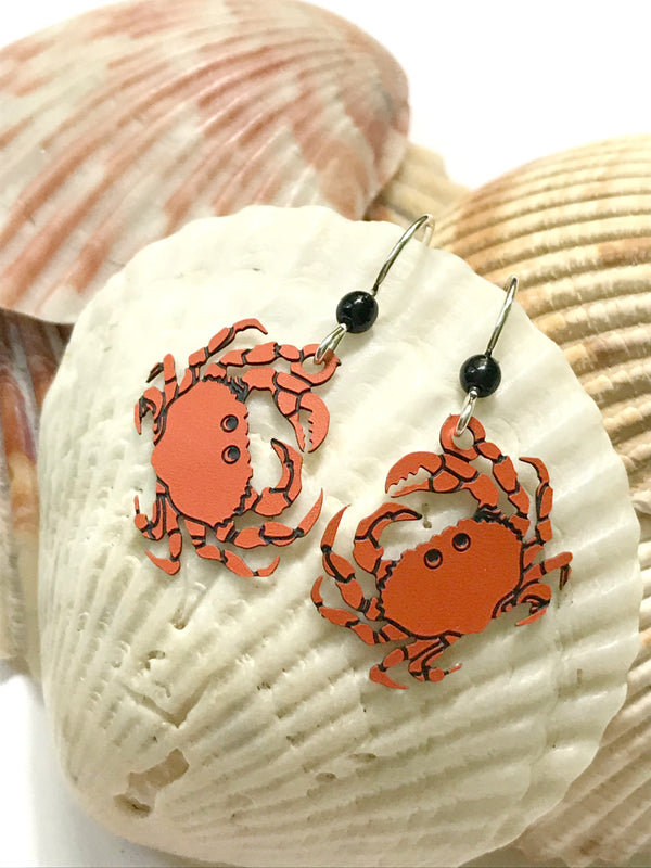 Crab Dangles by Sienna Sky | Sterling Silver Earrings USA | Light Years