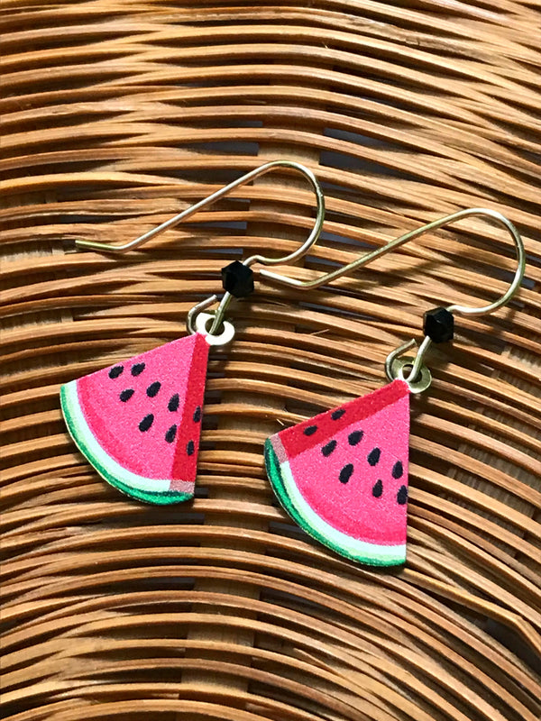Watermelon Dangles Sienna Sky | 14k Gold Filled Earrings | Light Years