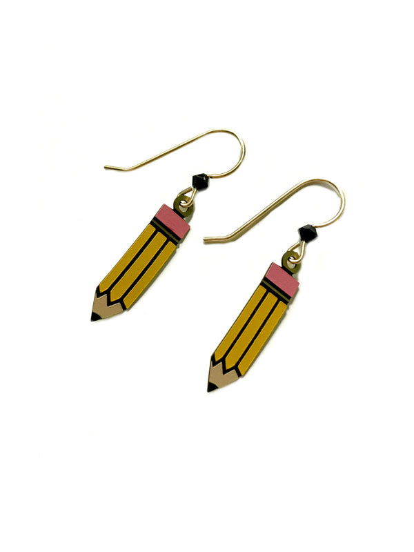 Pencil Dangles by Sienna Sky | Sterling Silver Earrings | Light Years