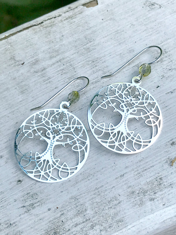 Celtic Tree of Life Dangles Sienna Sky | Sterling Silver | Light Years