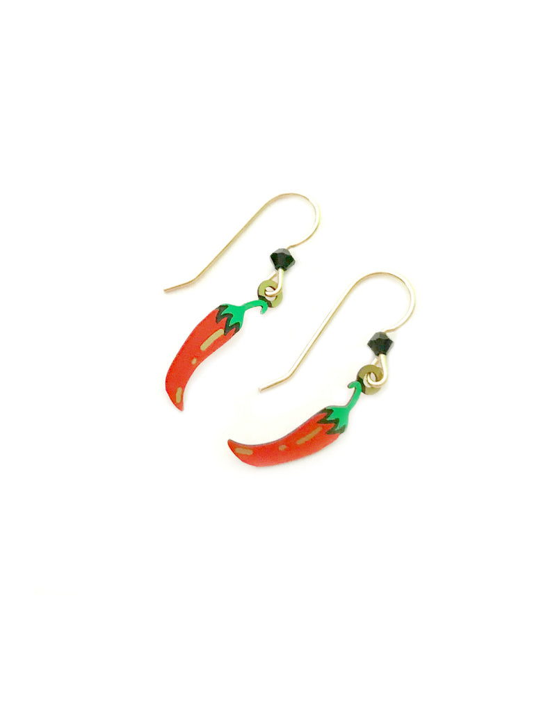 Chili Pepper Dangles Sienna Sky | 14k Gold Filled Earrings | Light Years