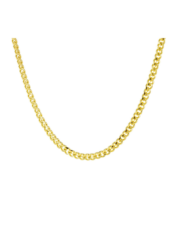 Gold Cuban Chain Necklace