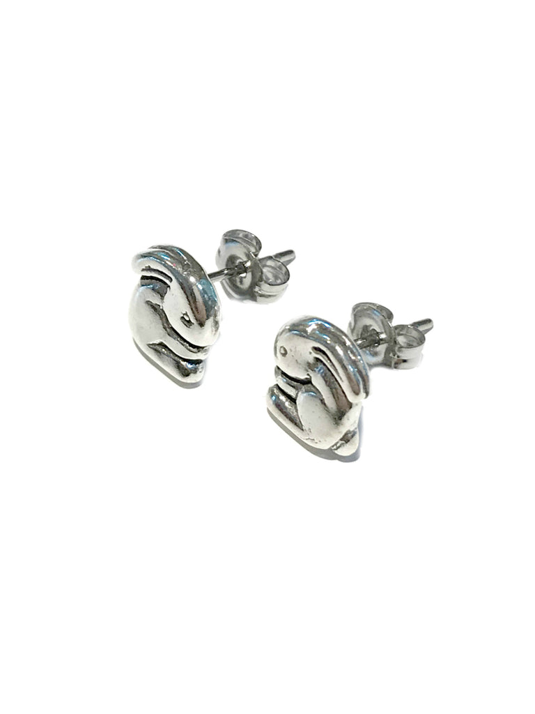 Sterling Silver Rabbit Posts | Stud Earrings | Light Years Jewelry