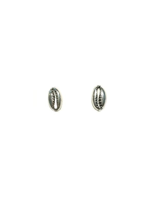 Cowrie Shell Posts | Sterling Silver Studs Earrings | Light Years