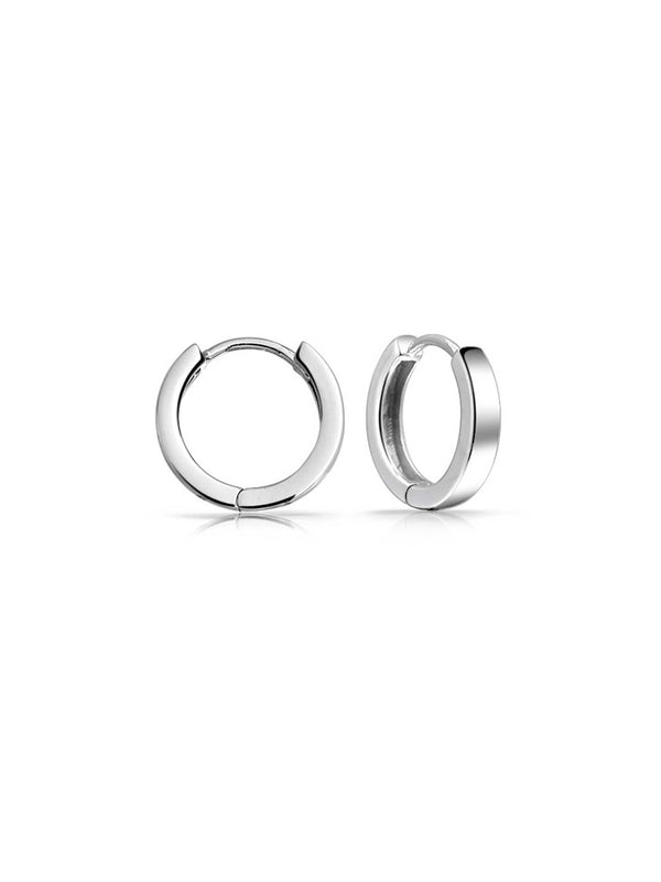 Classic Huggie Hoops | Sterling Silver Earrings | Light Years Jewelry