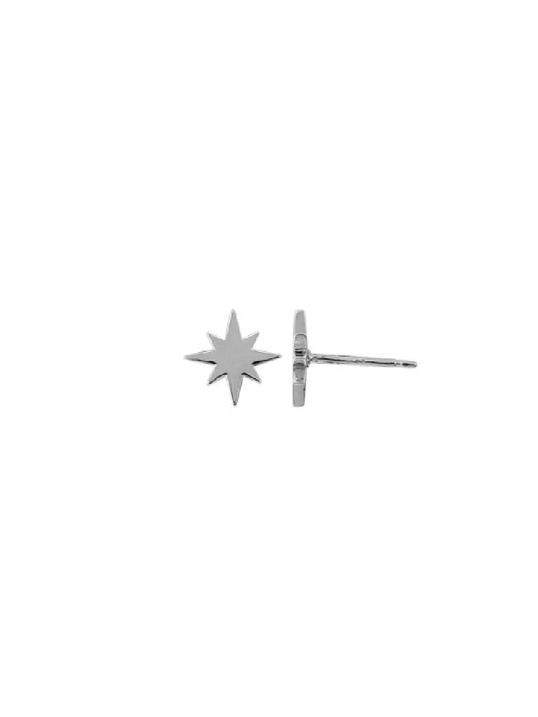 Pointed Starburst Posts | Sterling Silver Studs Earrings | Light Years
