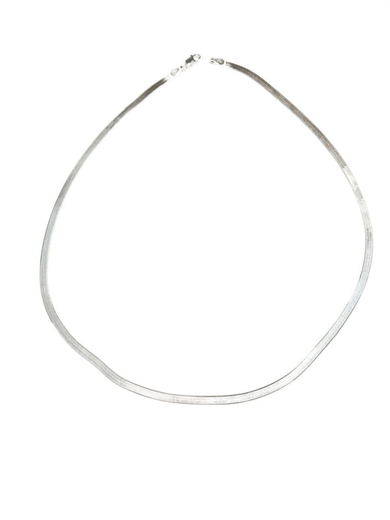 Sterling Silver Herringbone Chain | 16 18 20 Inch Necklace | Light Years