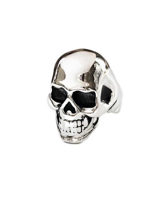 Heavy Men's Skull Ring | Stainless Steel Size 9 10 11 12 | Light Years