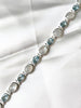 Moonstone & Blue Topaz Bracelet | Sterling Silver | Light Years Jewelry