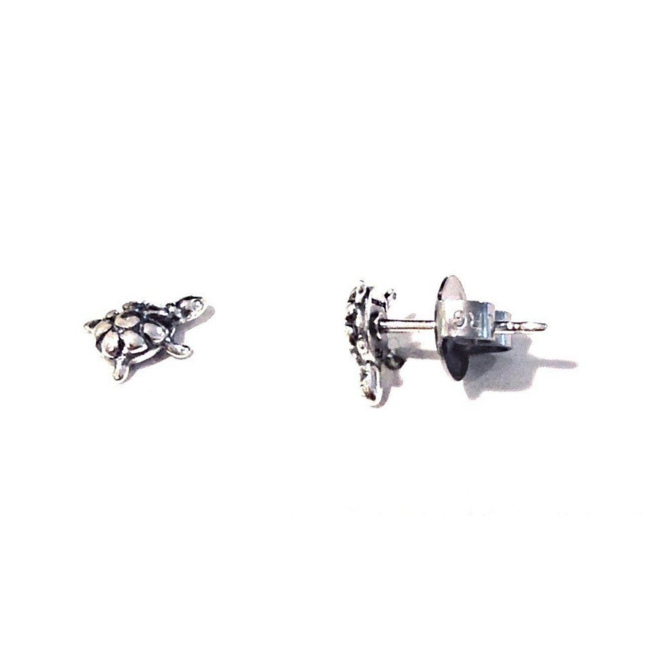 Small Turtle Posts, $10 | Sterling Silver Stud Earrings | Light Years Jewelry