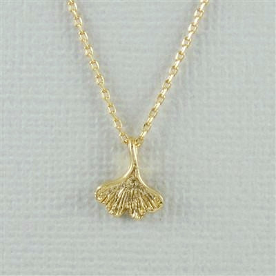 Gingko Leaf Necklace, $18 | Gold or Silver | Light Years Jewelry