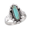 Oval Turquoise Stone Ring, $16 | Sterling Silver | Light Years Jewelry