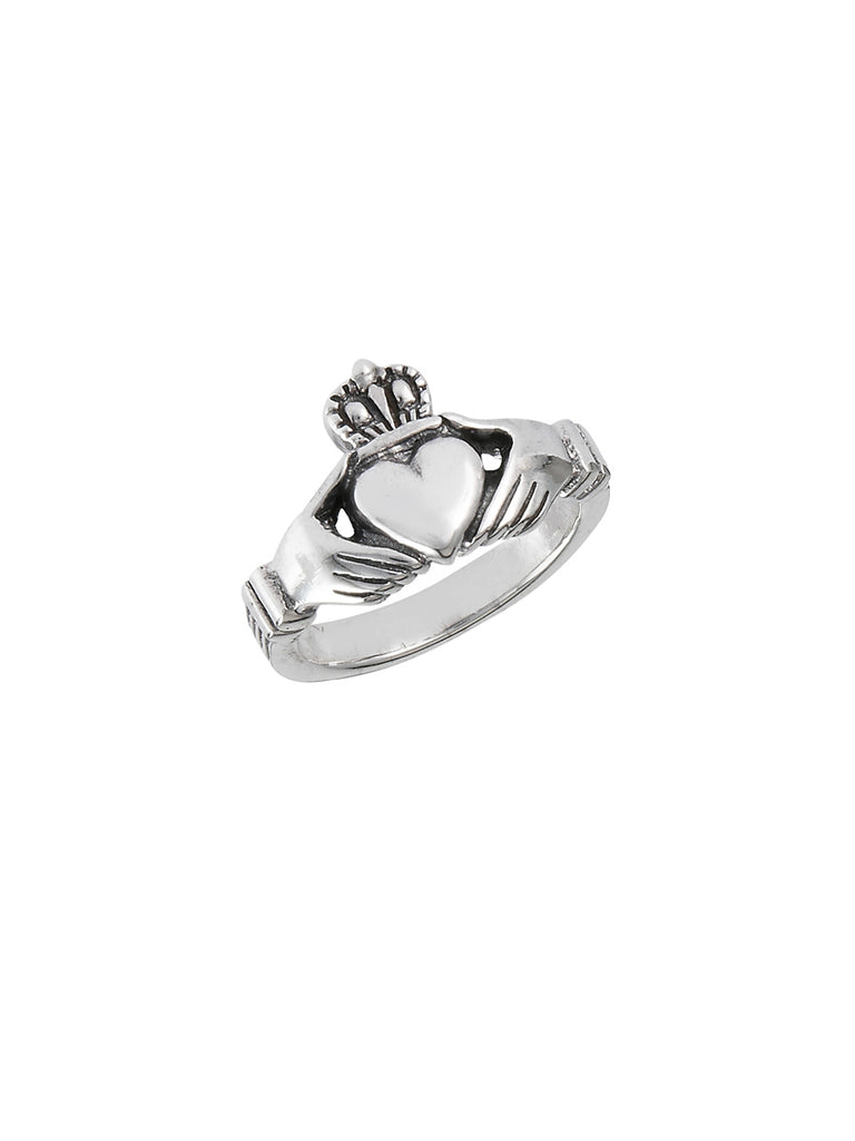 Claddagh Ring | Sterling Silver Size 4 5 6 7 8 9 10 11 12 | Light Years