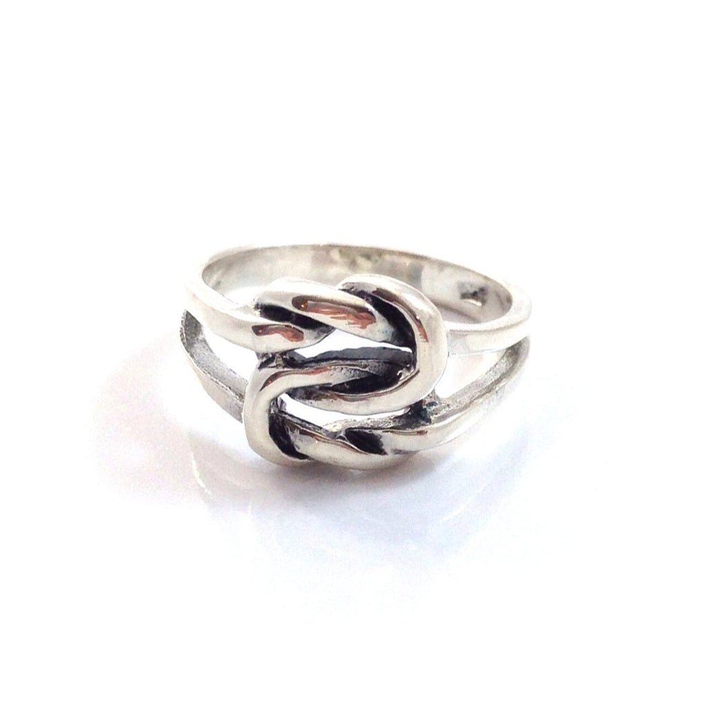Love Knot Ring, $16 | Sterling Silver | Light Years Jewelry