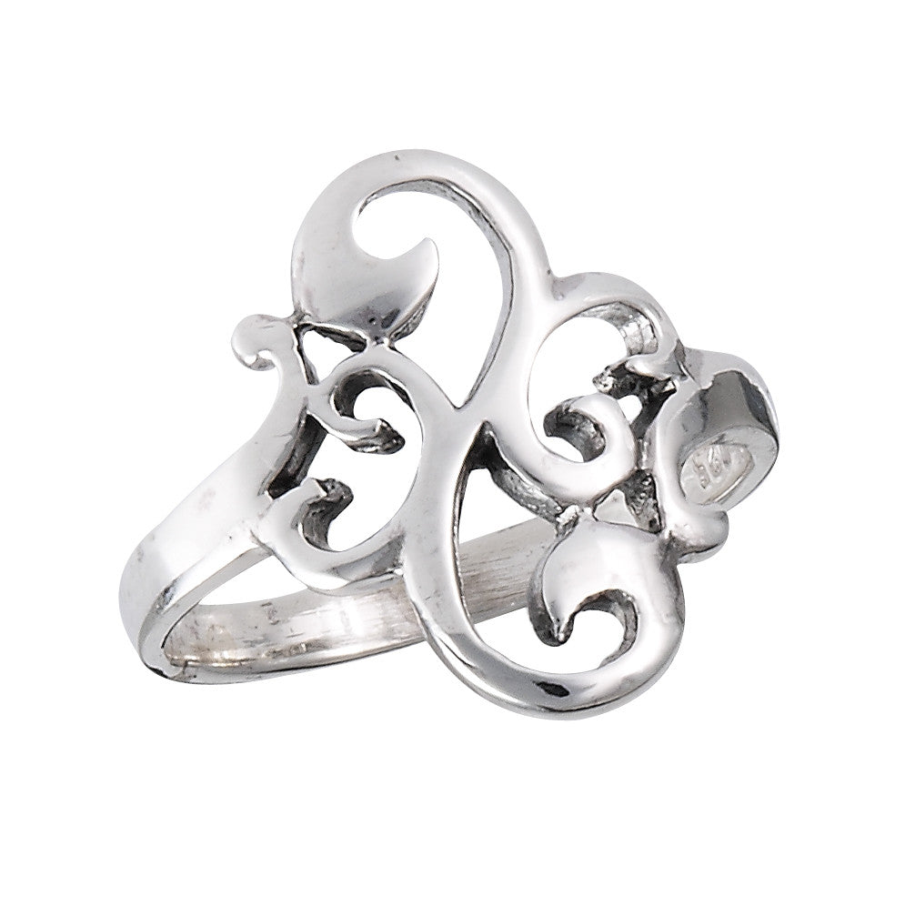 Filigree Swirl Ring, $14 | Sterling Silver | Light Years Jewelry