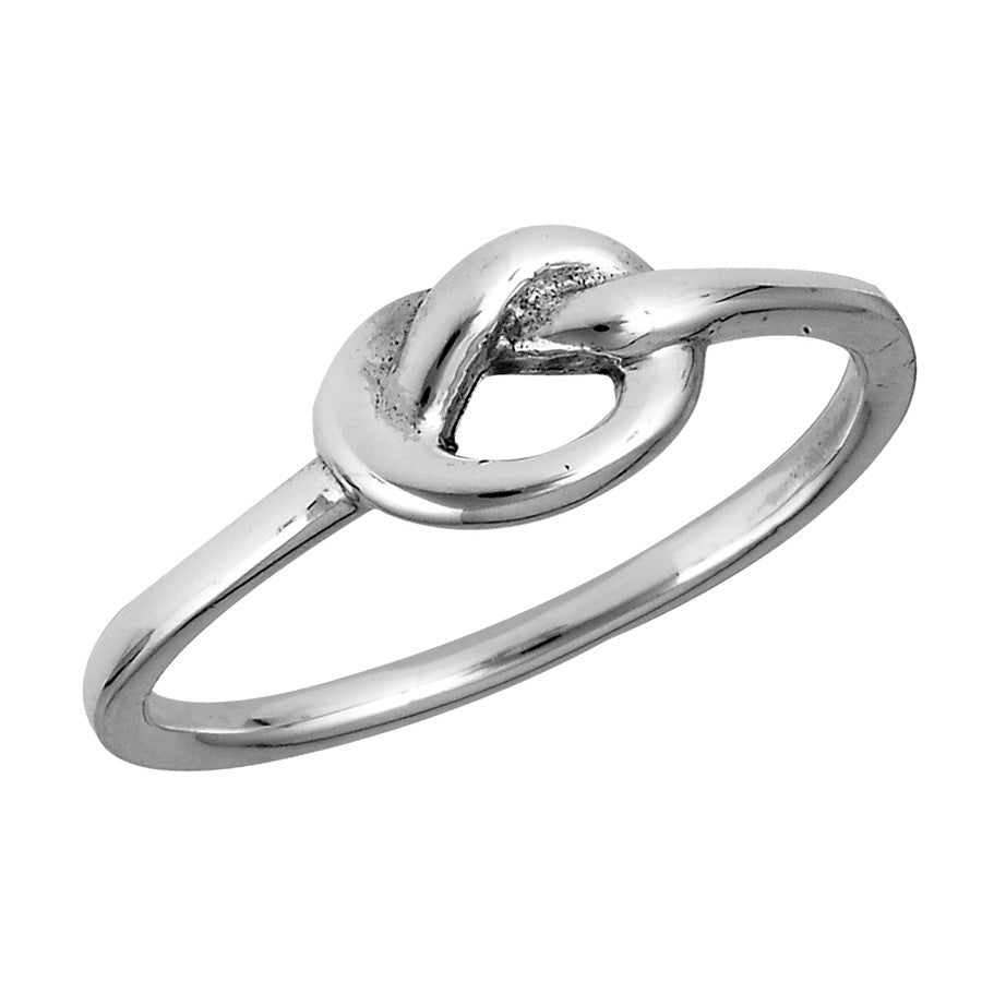 Heavy Knot Ring, $14 | Sterling SIlver | Light Years Jewelry