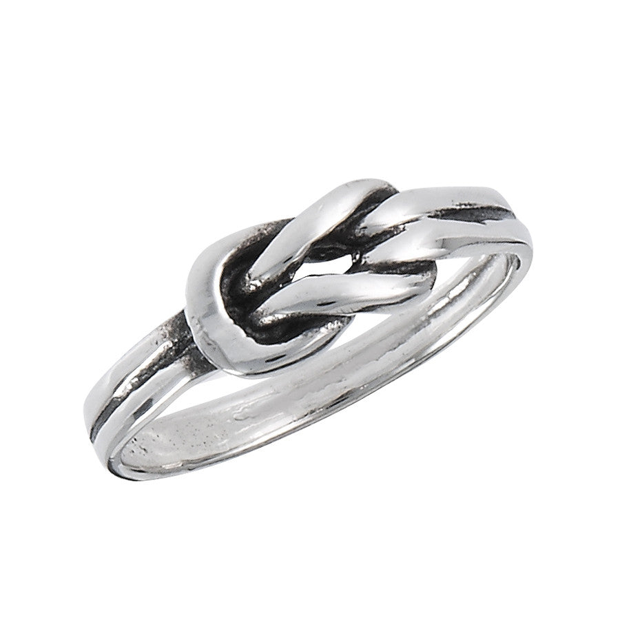 Love Knot Ring, $14 | Sterling Silver | Light Years Jewelry