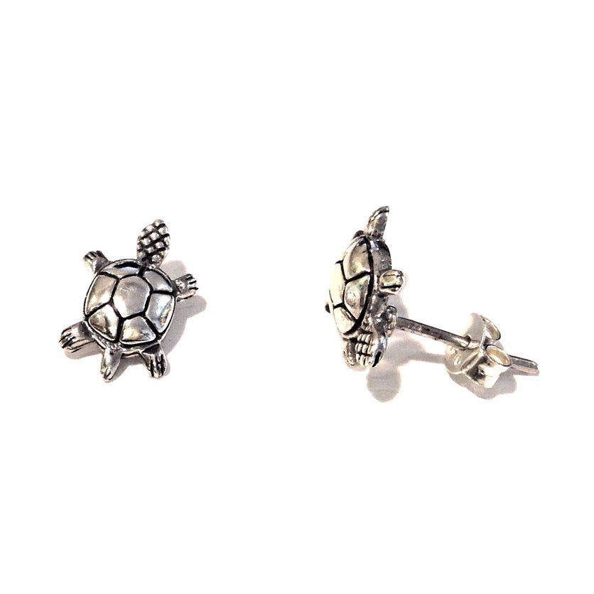 Turtle Posts $17 | Sterling Silver Stud Earrings | Light Years Jewelry