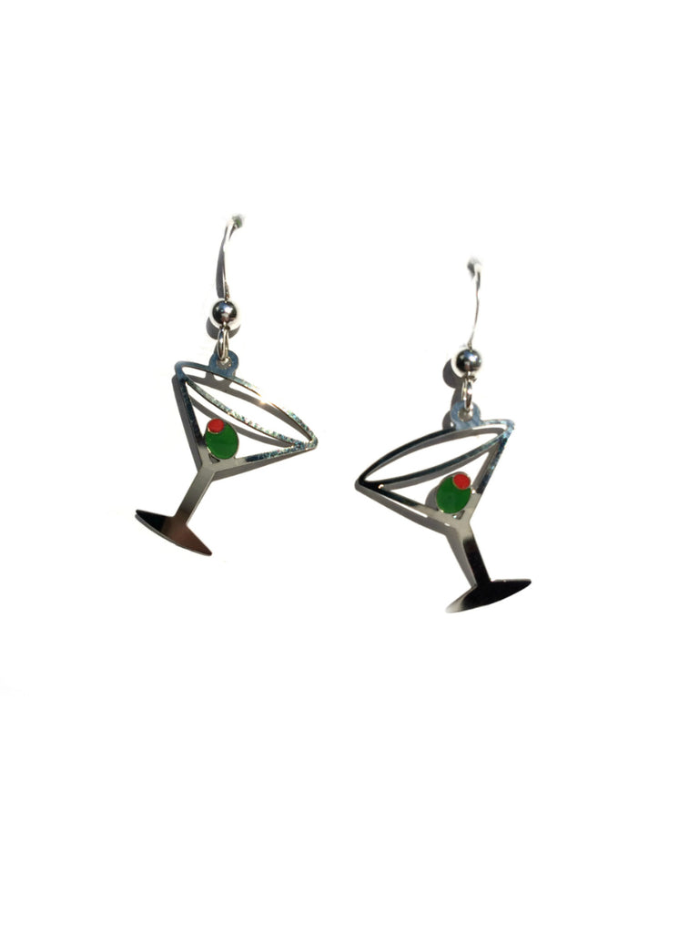 Martini Earrings by Sienna Sky | Sterling Silver | Light Years Jewelry