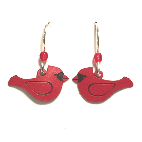 Red Cardinal Earrings by Sienna Sky, $15 | Light Years Jewelry