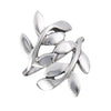 Wrapped Leaves Ring | Sterling Silver Size 5 6 7 8 9 | Light Years
