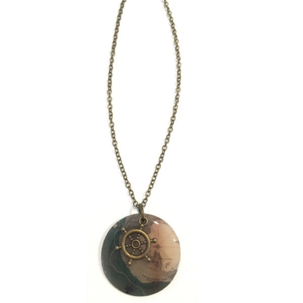 Beijo Brasil Navigator Necklace, $28 | Handmade | Light Years Jewelry