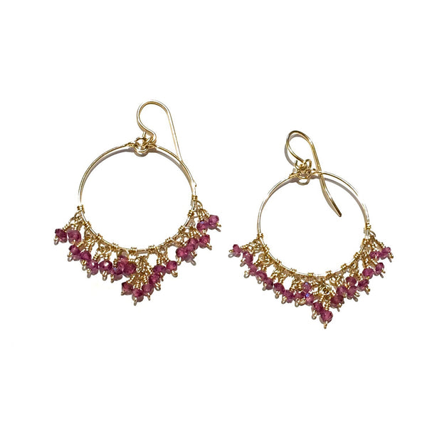 Handmade 14kt Gold-Filled Earrings, $36 | Amethyst | Light Years Jewelry