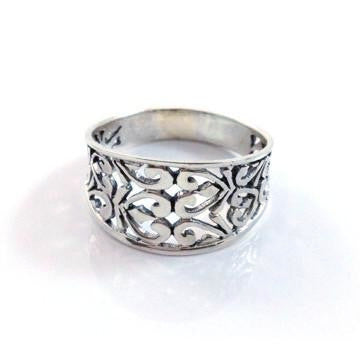 Silver Filigree Ring, $17 | Sterling Silver | Light Years Jewelry