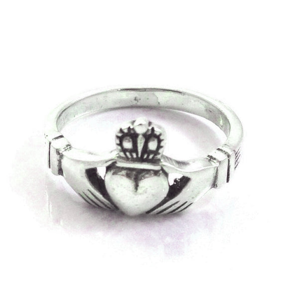 Claddagh Ring, $16 | Sterling Silver | Light Years Jewelry