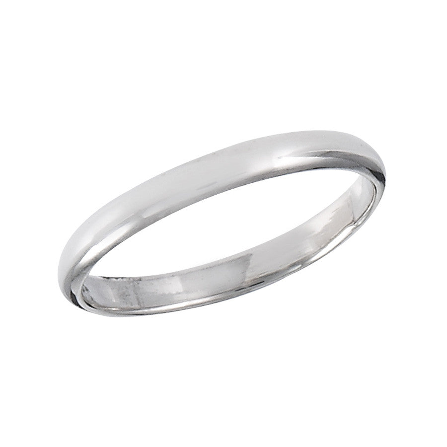 Simple Band Ring| Sterling Silver Size 2 3 4 5 6 7 8 9 10 | Light Years