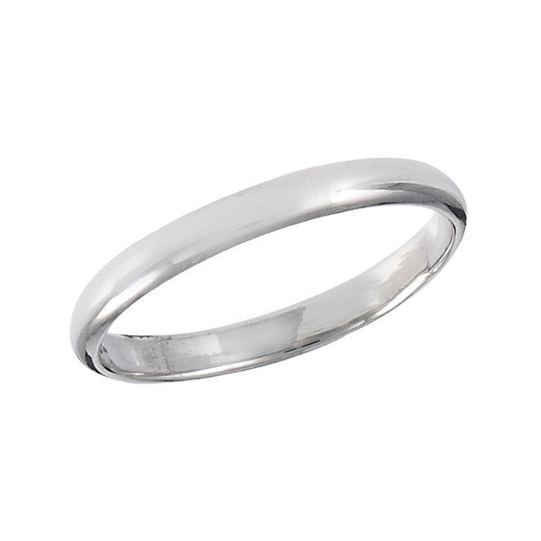 Simple Silver Band Ring, $7.50