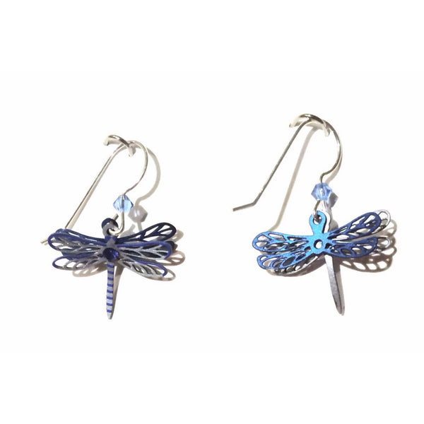 Sapphire Dragonfly Dangles By Sienna Sky, $18 | Sterling Silver | Light Years Jewelry