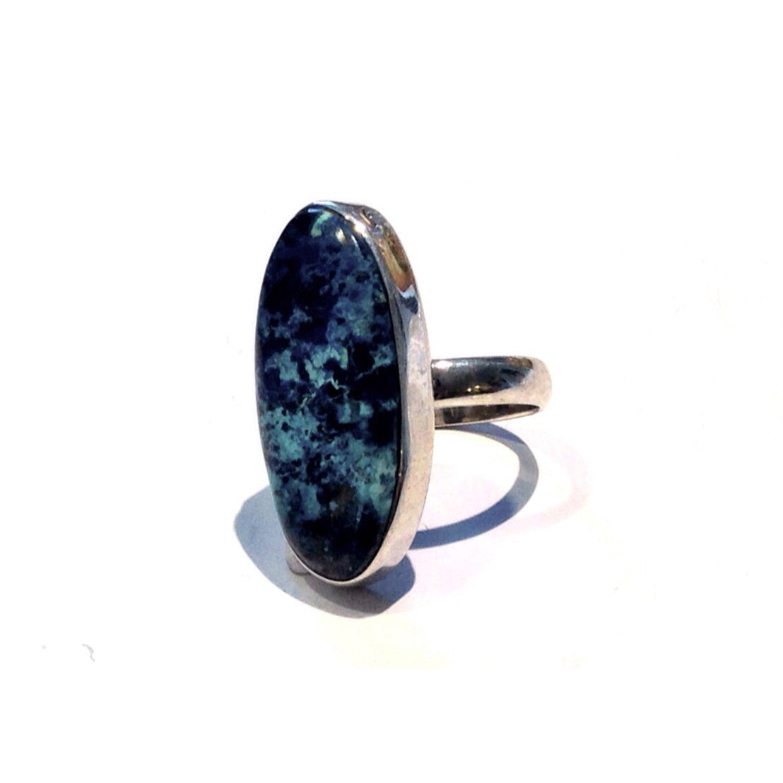 Oval Stone Ring, $42 | Sterling Silver | Light Years Jewelry