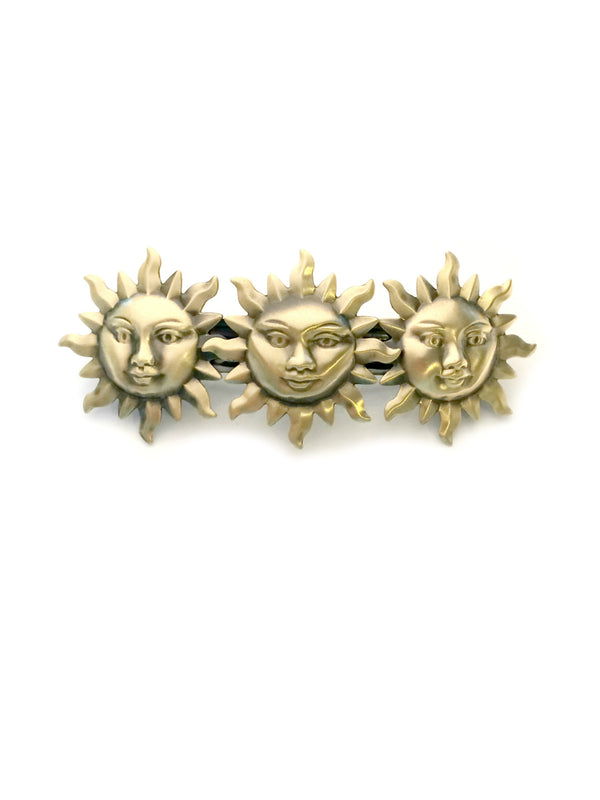 Brass Sun Barrette | Made in France Hair Accessories | Light Years