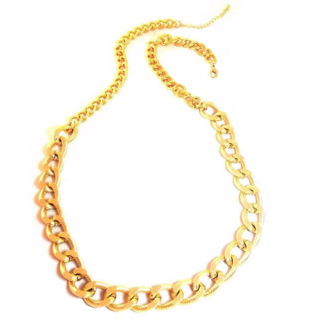 Long Threaded Chain Necklace, $14 | Fashion Gold | Light Years Jewelry