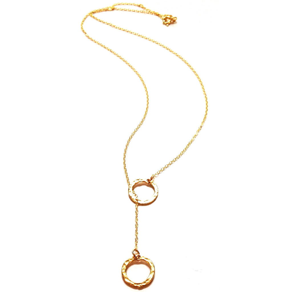 Ring Into The Ring Gold Necklace, $38 | 14kt | Light Years Jewelry