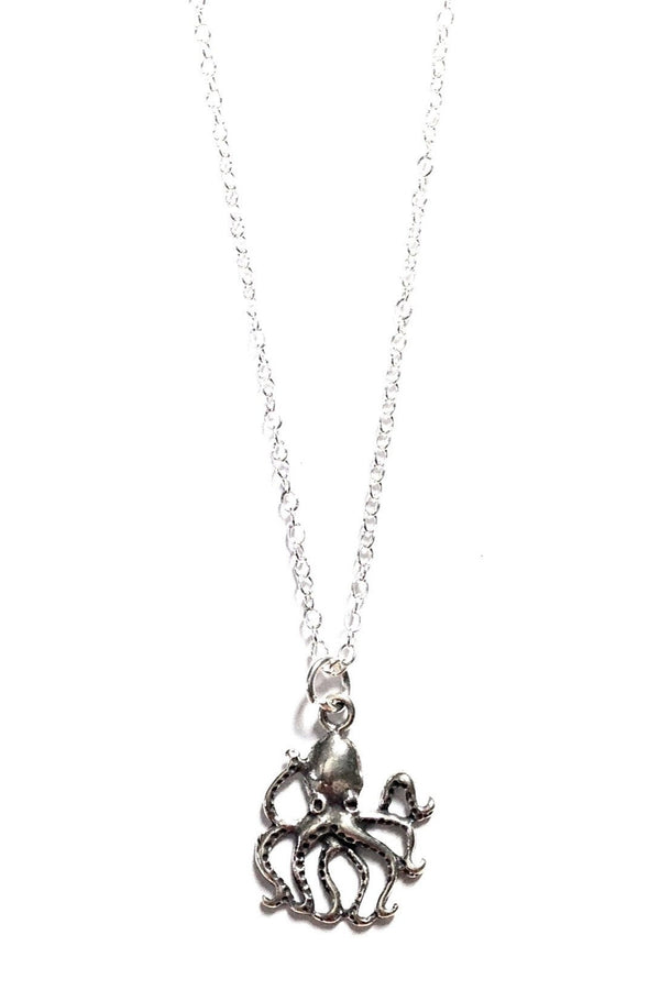 Octopus Necklace, $26 | Sterling Silver | Light Years Jewelry