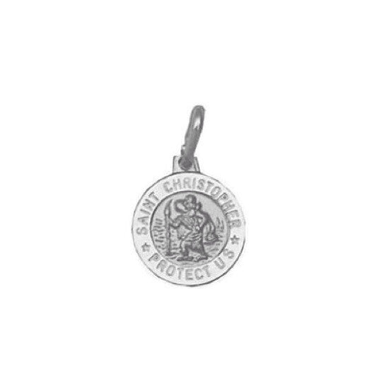 St. Christopher's Medal necklace, $18 | Sterling Silver | Light Years Jewelry