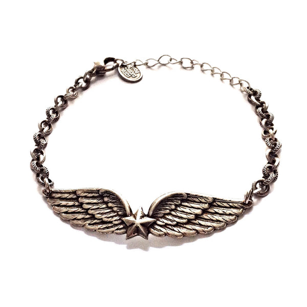 Antique Paris Winged Star Bracelet $44 | Vintage | Light Years Jewelry
