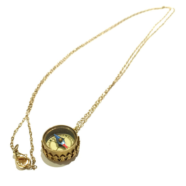 Long Compass Necklace, $12 | Vintage Fashion Necklace | Light Years Jewelry