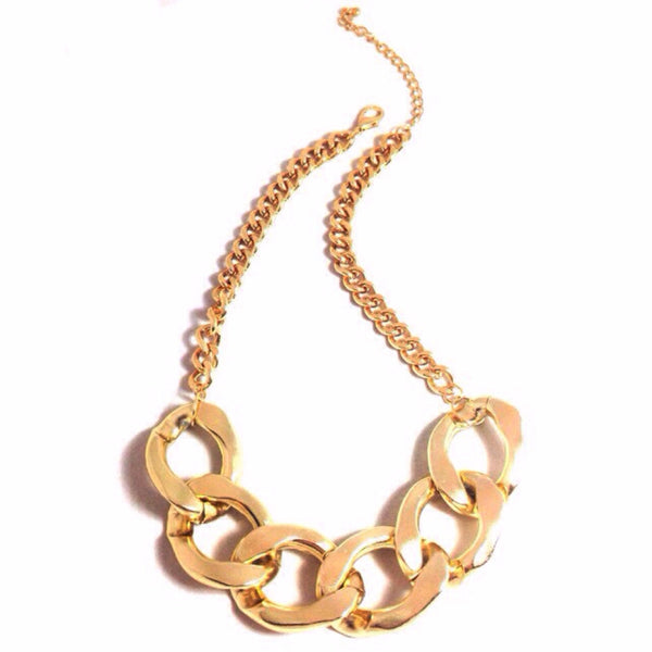 Large Fashion Chain Necklace, $12 | Gold | Light Years Jewelry